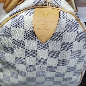 Louis Vuitton Bags - Louis Vuitton Speddy 30 Damier Azure